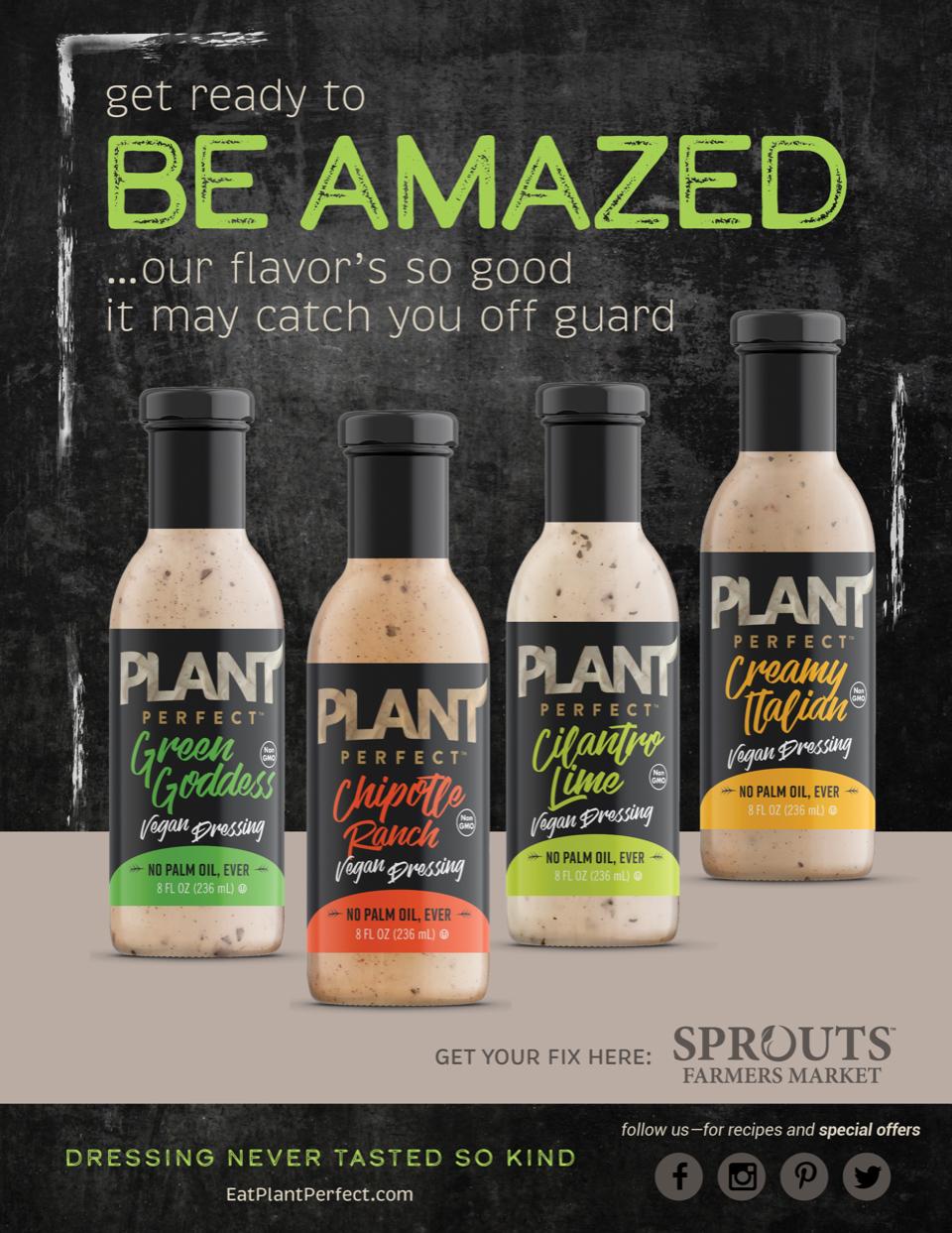 Eat Perfect Plant Dressings