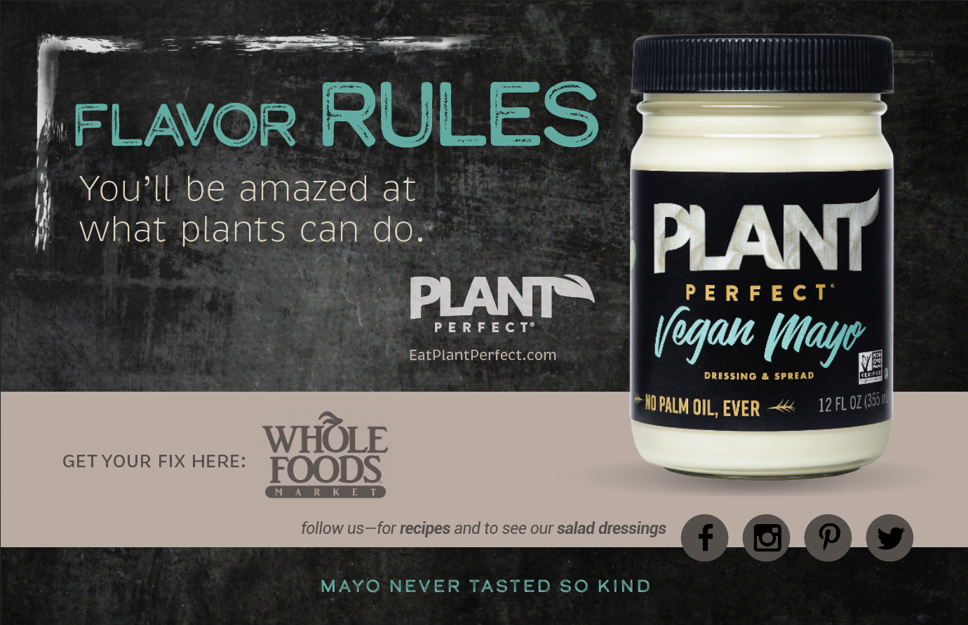 Eat Perfect Plant Mayo
